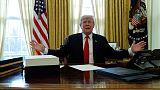 ترامب يقول تحقيق روسيا سيكون نزيها لكن إطاره الزمني غير واضح