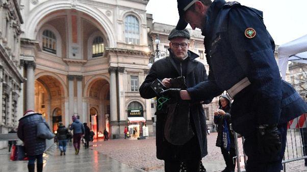 A Milano reati calati del -6% nel 2017