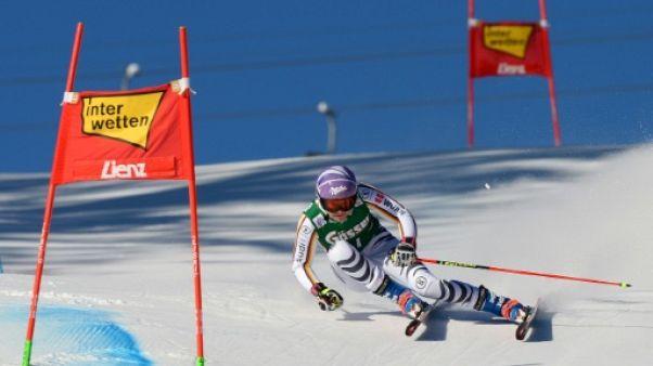 Ski: Rebensburg prend les devants dans la 1re manche du slalom géant de Lienz