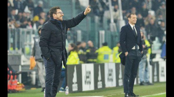 """Di Francesco: """"Il Sassuolo mi emoziona"""""""