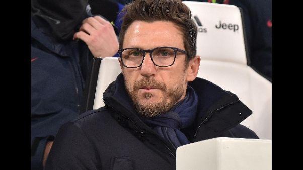 Di Francesco: Schick superi errore Juve