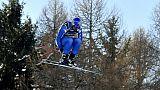 Ski: l'Italien Paris en tête après la descente du combiné à Bormio