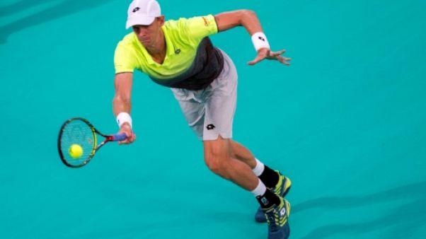 Tennis: Anderson se qualifie pour la finale à Abou Dhabi en battant Thiem