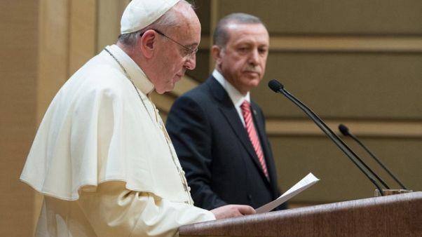 Gerusalemme: Erdogan telefona al Papa