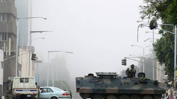 Zimbabwe army leaves streets a month after Mugabe's ouster