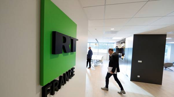 Kremlin-backed broadcaster launches French language news channel in wary Paris