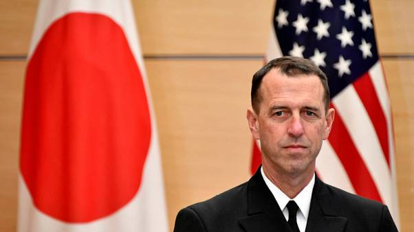 U.S. Navy chief says forces in Asia may be reinforced with warships from the eastern Pacific
