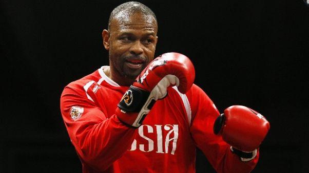 Boxe: Roy Jones, match addio a 49 anni