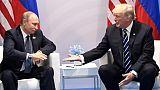"""Russie: Poutine appelle Trump à une """"coopération pragmatique"""""""