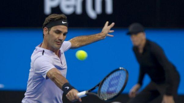 Tennis: Federer en maîtrise pour sa reprise à la Hopman Cup