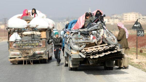 Syrie: les forces du régime avancent face aux jihadistes d'Idleb