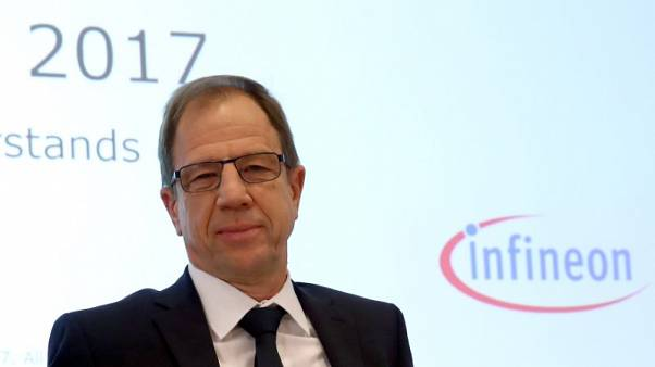 Infineon not vulnerable to takeover - CEO in Boersen-Zeitung