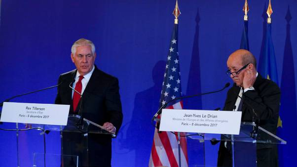 France, U.S. 'determined' to up pressure on Iran over ballistic weapons