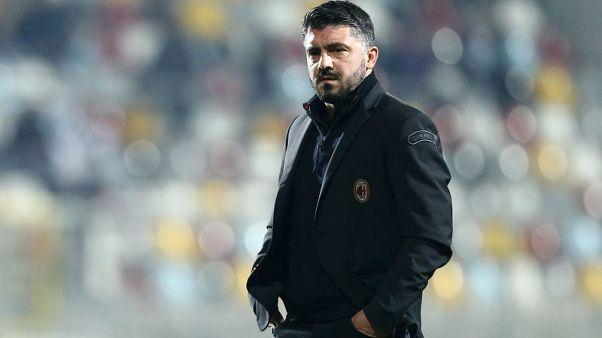 Milan not pretty but Gattuso happy with teamwork