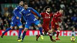 Salah double ensures Liverpool overcome Leicester