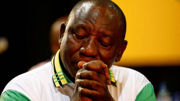 Ramaphosa's ANC election win lifts South African banks