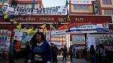 In Bolivia's bellwether city, anger at Morales grows
