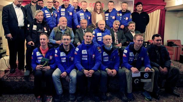 Polish group aims for history by winter scaling of world's second highest peak