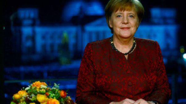 L'Europe, priorité des prochaines années pour Angela Merkel