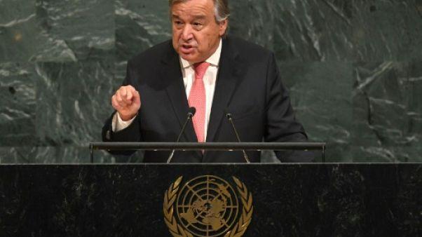 """Guterres (ONU): """"alerte rouge"""" pour la planète"""