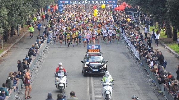 Atletica: We run Rome al keniano Kibet