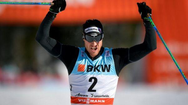 Tour de ski: Cologna impérial sur la poursuite de Lenzerheide