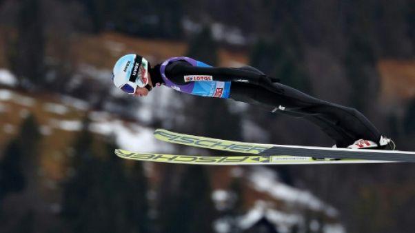 Saut à skis: Stoch récidive à Garmisch-Partenkirchen