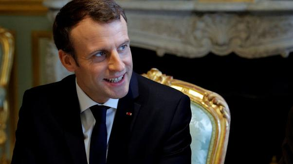 France's Macron firms up bounce in opinion polls