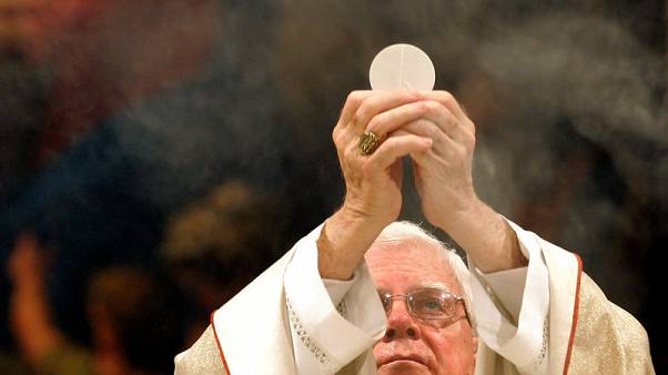 Cardinal Bernard Law, forced to resign over sex-abuse scandal, dies - media