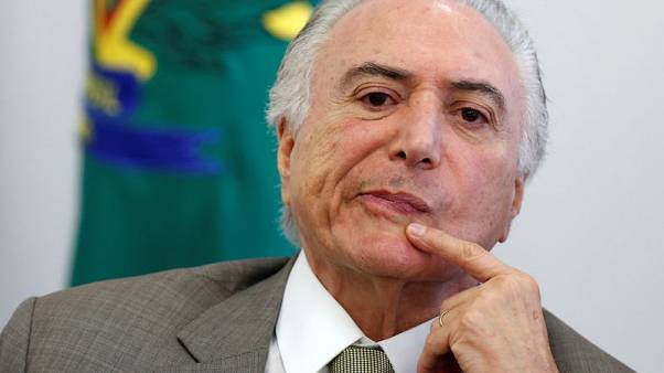 Poll shows improvement in Brazil president Temer's low approval rating