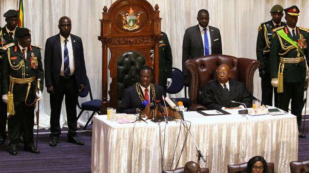 Zimbabwe's Mnangagwa promises zero tolerance in corruption fight