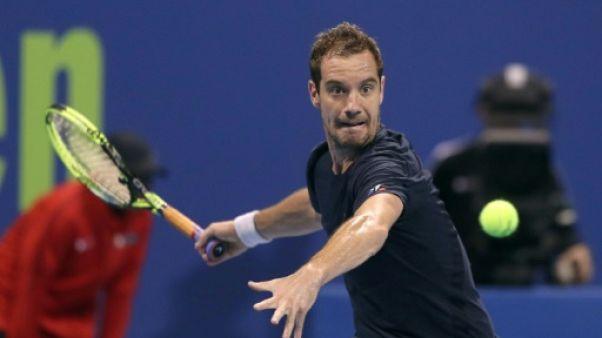 Tennis: Gasquet débute l'année par une victoire facile à Doha