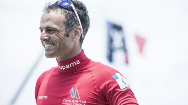 Voile: le retour de Franck Cammas pour la 4e étape de la Volvo Ocean Race 2017