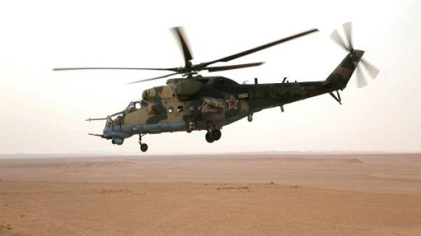 Crash d'un hélicoptère militaire russe en Syrie: deux morts