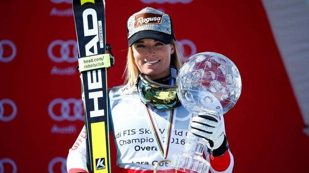 Alpine skiing - Gut battling for full fitness after knee injury