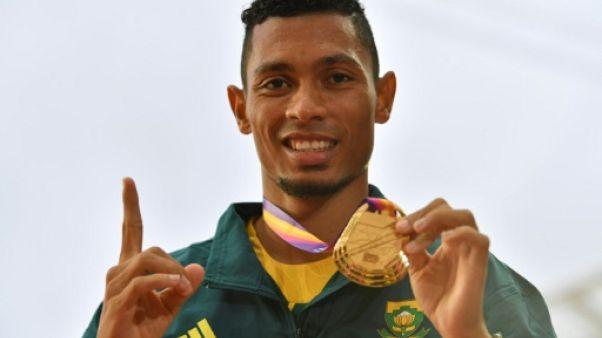 Athlétisme: le Sud-Africain Van Niekerk n'envisage pas de revenir avant les Mondiaux-2019