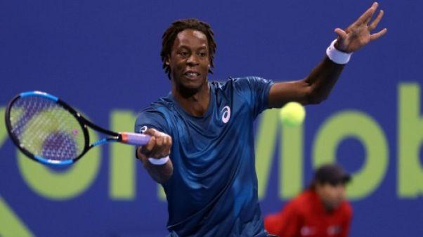 Tennis: Monfils qualifié pour les quarts de finale de Doha, Gasquet s'arrête là