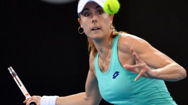 Tennis: Alizé Cornet éliminée en quarts