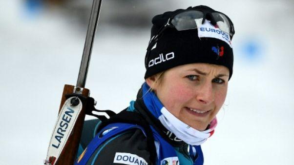 Biathlon: Justine Braisaz ne veut rien précipiter