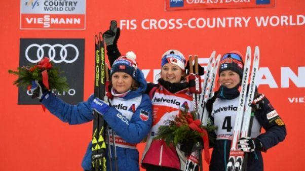 Tour de ski: Oestberg remporte le 10 km libre d'Oberstdorf