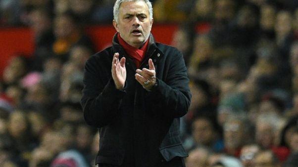 Manchester United: Mourinho nie l'idée d'un départ à la fin de la saison