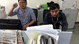 Myanmar says two Reuters journalists remanded in custody