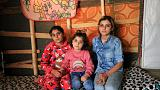 Yazidi sisters reunited after three years in Islamic State captivity