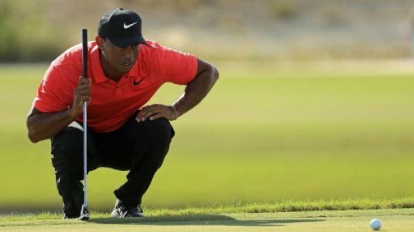 Golf: Tiger Woods lancera sa saison fin janvier à Torrey Pines
