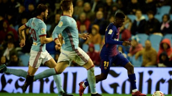 """FC Barcelone: le revenant Dembélé devait jouer """"libéré"""", dit Valverde"""