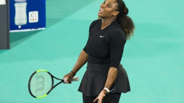 Tennis: Serena Williams forfait pour l'Open d'Australie