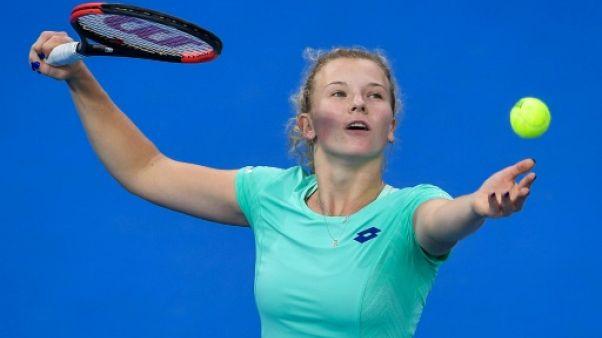 Tennis: Siniakova élimine Sharapova et rejoint Halep en finale à Shenzhen
