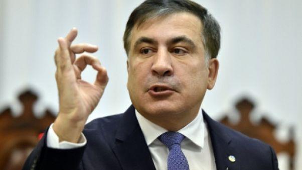 Géorgie: Saakachvili condamné par contumace à trois ans de prison
