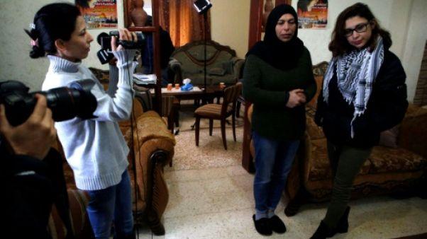Libération conditionnelle pour une Palestinienne ayant frappé des soldats