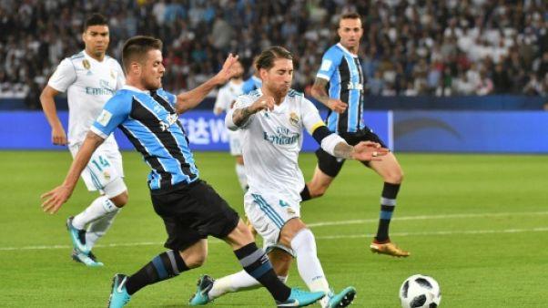 Foot: Sergio Ramos (Real Madrid) blessé à un mollet